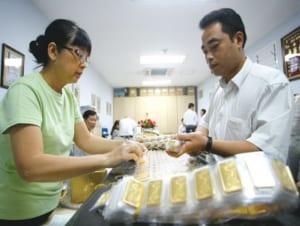 Không niêm yết công khai giá vàng miếng tại điểm giao dịch xử phạt như thế nào